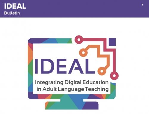 Newsletter n°1 du projet IDEAL